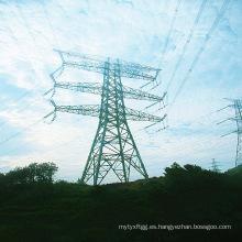 220kv Transmisión de la energía de la pipa Torre del acero
