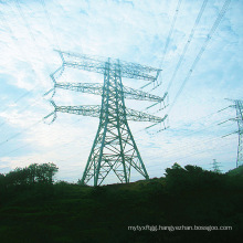 220kv Pipe Power Transmission Steel Tower