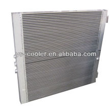 mechanical engineering heat exchanger / plate fin type air oil cooler