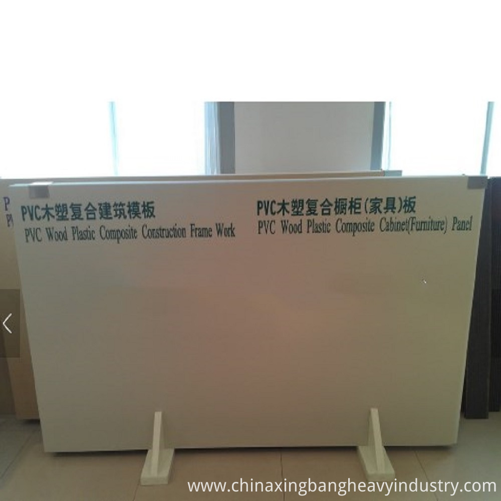 High Quality wood plastic composite machine