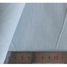 60 Baumwolle 40 Polyester Streifen Garn gefärbt Shirt-Stoff