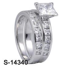 Neueste 925 Sterling Silber Hochzeit Ring (S-11485, S-14340Y JPG)