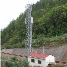 Steel Tubular Pole Top Build Tower Telecommunication Tower