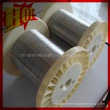 Cable de titanio ASTM B 863 Gr 9 en existencia