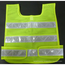 100%Polyester Mesh with Crystal Tape for Adult Safety Vest