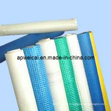 Maillage en fibre de verre pour matériaux de construction