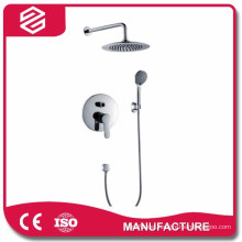 hidden shower set in wall wall-mounted shower set