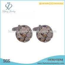 Moda jóias de cobre, cufflink, cufflink fabricante