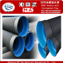 High Protection HDPE Double Wall Corrugated Pipe for Sewage System