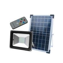 O poder exterior conduziu o projector solar da segurança IP65
