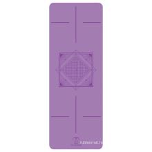 Yugland Cheap PU anti slip printed label exercise yoga mats