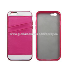 ID/IC Credit Card Holder Soft TPU Cover Case for New iPhone, Easy to Install and Remove