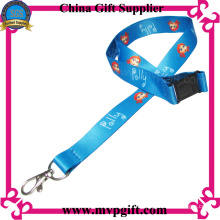 Blue Lanyards with material Eco Friend