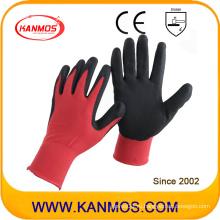 Промышленная безопасность Нитриловые перчатки с покрытием из трикотажного полотна с покрытием (53302NL)