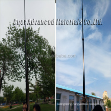 6 m 7m 8m 10 meters elevated mast/telescopic camera pole roof surverys/aerial photography