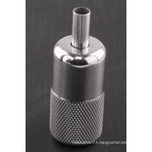 New Style Stainless Steel Tattoo Grips with Back Stem