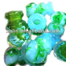 En gros aromathérapie huile bouteille parfum flacon collier parfum pendentif murano verre arôme collier pendentif