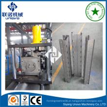 Máquina de produção de rollform de quadro de prateleira de armazenamento rack