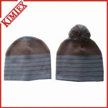 Модные зимние трикотажные жаккардовые шапочки