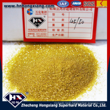 Yellow Synthetic Diamond for Making Diamond Drill Bit