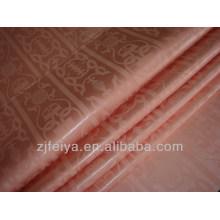 Оптовая персикового цвета мягкий хлопок Гвинея парчи Африканский ткань высокое качество shadda базен riche 10 ярды кусок/мешок FYC8028-Джей