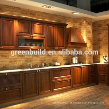 Projetos de armário de cozinha de madeira maciça de carvalho branco
