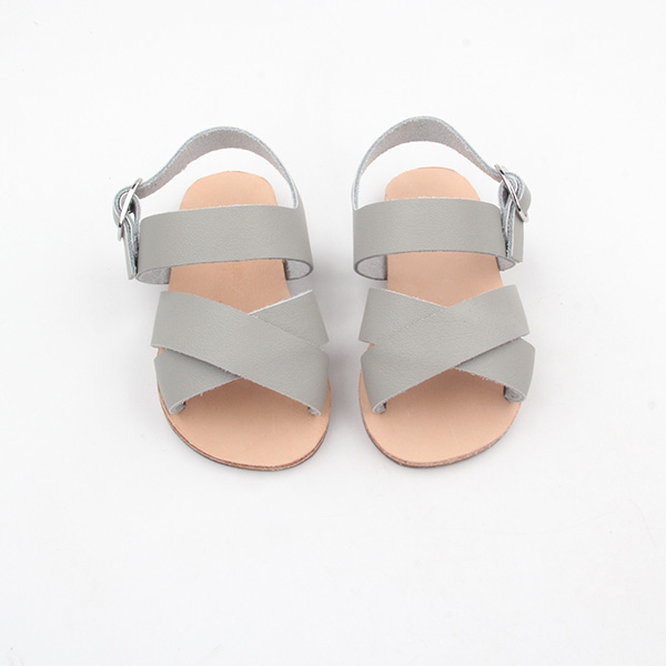 Wholesale Kids Leather Sandals