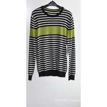 Men 100%Cashmere Long Sleeve Round Neck Knitting Sweater
