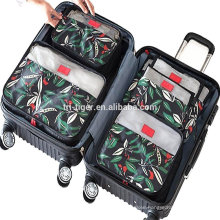 6 Set Packing Cubes,Compression Travel Luggage Organizers with Laundry Bag Shoes Bag for Carry-on Luggage, Suitcase and Backpack