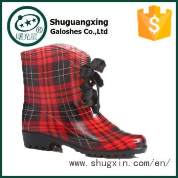 пластиковые желе дождь обувь женщины дождь сапоги женщин