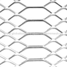 Expanded metal mesh, can be made of a wide range of materials