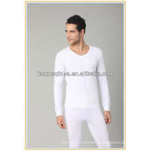 sexy seamless men tight long underwear,men knitting cotton long johns