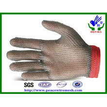 Stainless Steel Ring Mesh Gloves for Cutting (R-BXGST)