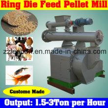 Machine de fabrication d'aliments pour volaille