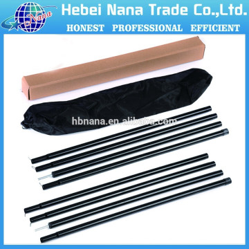waterproof camping tube tent,camping telescopic tent pole