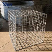 50x50 мм Гальванизированная сваренная Коробка gabion сетки