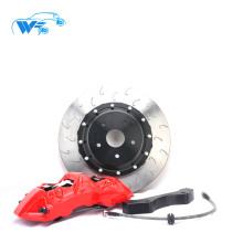 Rouge de haute qualité et de course forte 6 pistons pour BMW 118i voiture 18 roues de jante grand étrier de frein