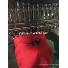 Sola máquina principal del bordado para el bordado del casquillo y de la camiseta