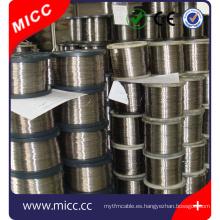 MICC cable de calefacción de resistencia plana nichrome para la venta