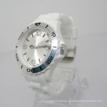 Nuevo reloj de moda plástico del movimiento del Japón de la protección del medio ambiente Sj072-8