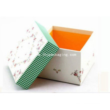High Quality Tea Packaging Gift Paper Box with Recycle Printing