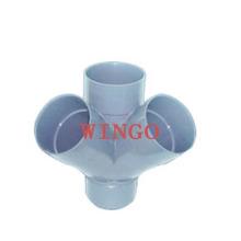 Molde de Conexões Molde de Tubo de Plástico Molde de Conexões de PPR