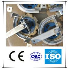 Montagem de roda de canto de giro para peças de reposição de linha de abate