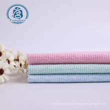 Rib Cotton Polyester Jersey Knitted Fabric For Dress