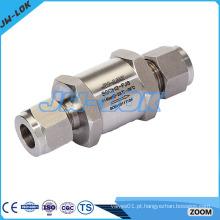 O principal fabricante de válvulas de retenção em linha de aço inoxidável