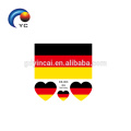NEW Football National Flag Tattoo Stickers Temporary Cosmetic Flag Face Tattoo