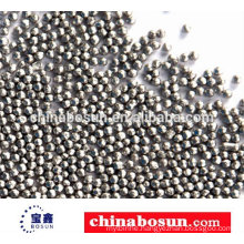 304 stainless steel shot for blasting used for casting parts rust-removal Stainless Steel Shot
