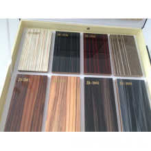 Glossy Woodgrain Laminated MDF Boards for Kitchen Cabinet (zhuv)