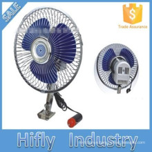 HF-809 DC 12V/24V Car Fan Oscillating Portable Auto Car Fan 8 Inch Mini Cooling Air Car Fan