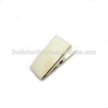 Fashion High Quality Metal Badge ID Bulldog Clip